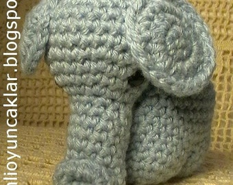 Amigurumi  2.5 inc Elephant Pattern