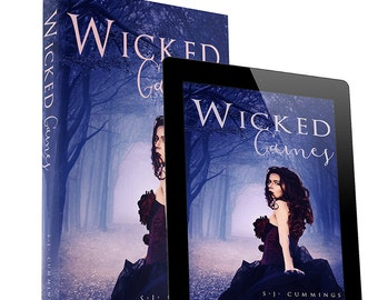 Wicked Games-premade book cover design- Ebook & print available