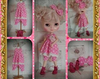 Blythe dress and bloomer set
