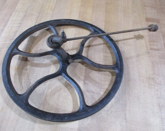 1925 Fly Wheel and Pitman Arm for Singer Treadle Sewing Machine Model 66 Flywheel