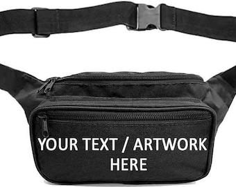 Custom Fanny Packs Personalized 39+ designs **FREE SHIPPING** by SoJourner Bags