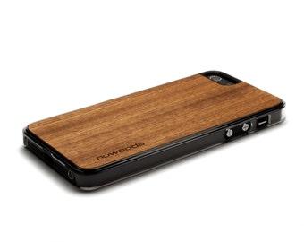 iPhone 5 Case Wood Sapele, Wood iPhone SE Case, iPhone 5S Case Wood