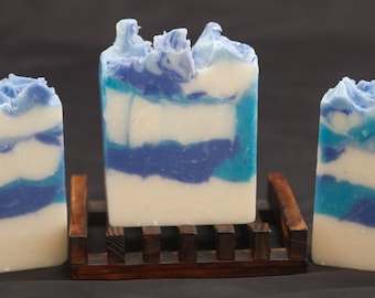 Handmade soap - sea storm