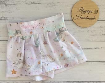 Unicorn Evie Shorts