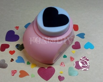 35x30mm extra large size paper punch -- heart, Jewelry Template, Stud earrings holder