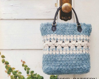 download PDF Pattern,bag pattern,crochet pattern,tote pattern