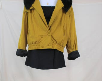 vtg 80's to 90's Nordica Artsy color block jacket. Large rqWNL9Qgg