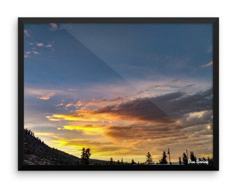Frisco Sunset Framed/Print/Wall Art/Colorado/Photography/Landscape Photography/Nature Photography