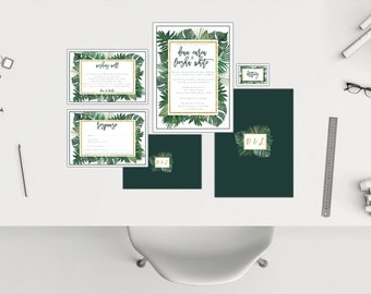 Wedding Package // Tropical