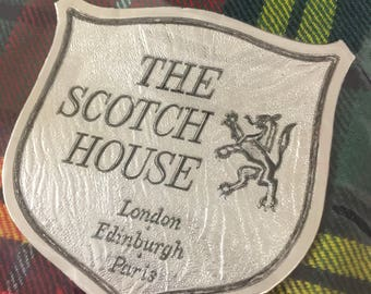 Vintage Kilt, Kit. From the Scotch House, London Edinburgh, paris. Made of pure new wool.