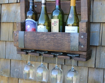wine barrel wine rack furniture. Unique Rack Reclaimed Wine Barrel Rack Pallet Wood Wine Rack  Bottle Holder Shelf Rustic Wedding Gift In Rack Furniture
