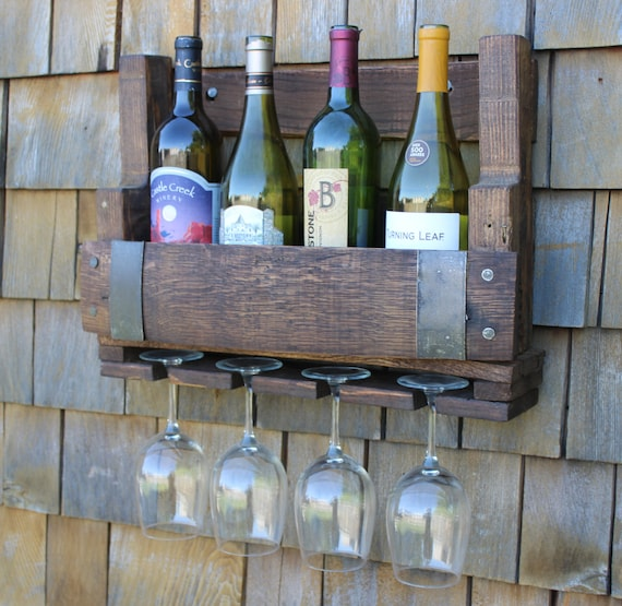 Reclaimed Wine Barrel Wine Rack Pallet Wine Rack Pallet