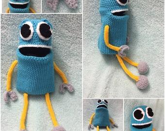 Story Robots Crochet Pattern Puppet or Stuffie