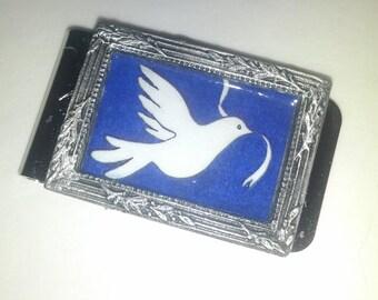Dove of Peace Money Clip
