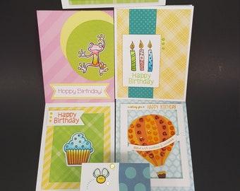 Birthday - 6 card bundle - Happy Birthay Cards