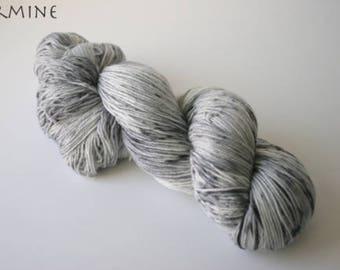 Painted Ladies Sock Yarn, Ermine