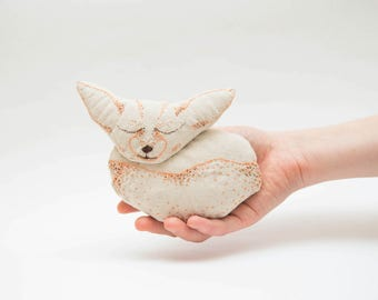 Fennec fox toy, fox plush, the little fox, fox stuffed animal, child's toy, stuffed toy for kids, child friendly toys, baby shower gift