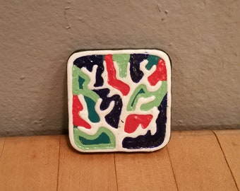 Handpainted Magnet