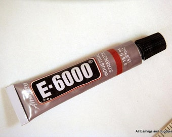 Adhesive E-6000 Glue Clear Glue Jewelry and Craft Adhesive .18 oz - 1 pc - MS11037-AD1