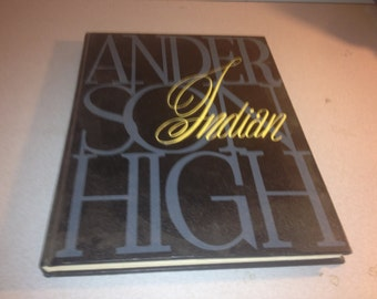 1962 Anderson High School Yearbook Anderson Indiana