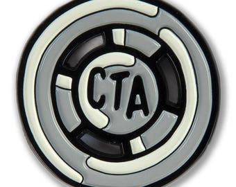 CTA Token Enamel Pin