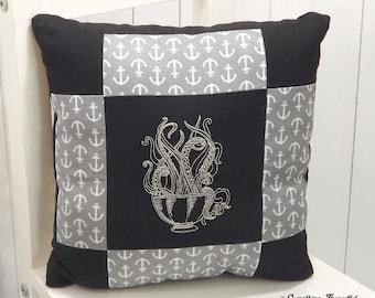 Tentacle Tea Pillow