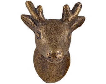 Deer Head Drawer Knobs - Deer Cabinet knobs (RTG49)