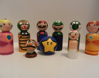 Nintendo Peg People