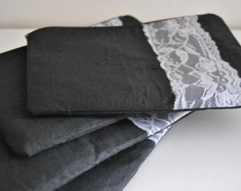 Set of 4 bridesmaid clutches