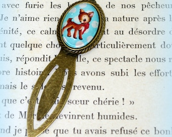 Bookmark vintage Fawn