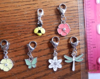 Stitch markers for crochet and knitting projects