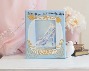 Personalized Cinderella Frame