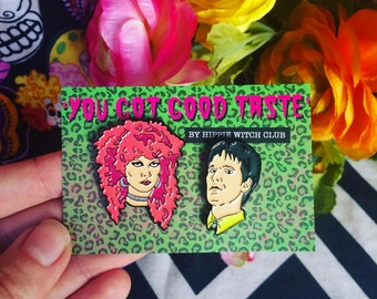THE CRAMPS - 'You've Got Good Taste' - Limited editon Enamel Pin with glitter