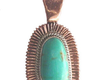 Copper with Turquoise Jewelry