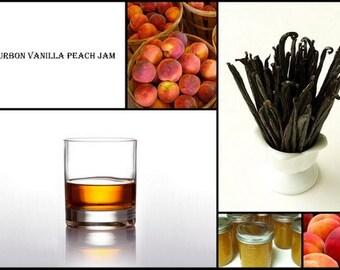 Bourbon Peach Vanilla Jam