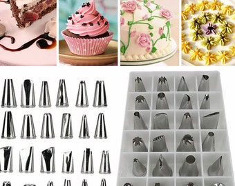 24pc Cake Decorating Tips   AF5