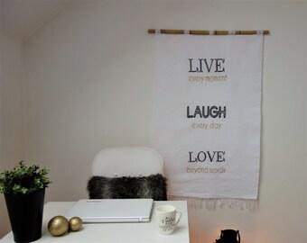 Woven wall hanging, Wall tapestry, Wall decor, Handmade wall hanging, Woven wall art, Fiber art, Embroidered wall art, Modern wall art