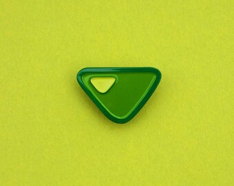 Steven Universe Peridot Gem Pin Soft Enamel Crystal Gem Pin