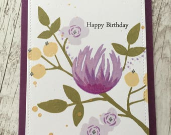 Birthday Card, Handmade Greeting Card