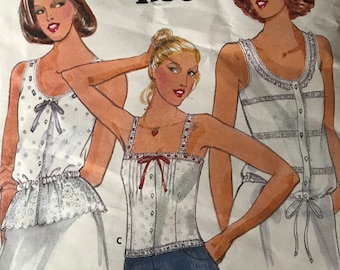 Cute Cami Pattern by Jane Tise---Butterick 5992---Size 16  Bust 38  UNCUT
