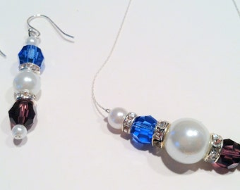Mother's / Grandmother's Necklace & Earrings