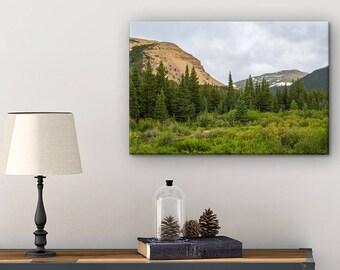 Colorado Photography Canvas - Canvas Wall Decor - Living Room Wall Decor - Colorado Wall Art - Nature Photography - Mountain Wall Art