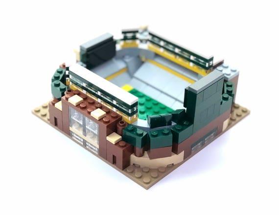 Mini Green Bay Packers Lambeau Field Custom Brick Set with