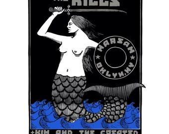 The Kills Poster, Brooklyn 2016