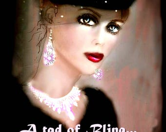 A TAD OF BLING.....Art by Anita...  Cards and Prints ...  No Zen to Zany watermark on products sold