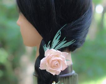 Dried Flower Wedding Hair Picks  | The Sandra Rue Collection Hair Picks