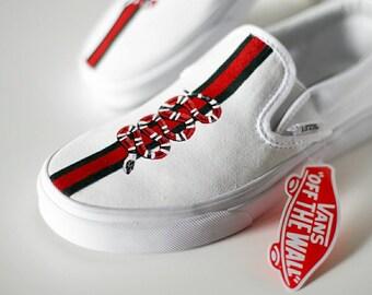 Custom Vans Shoes Gucci