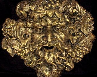 Bacchus Wine Mythical Wall Decor