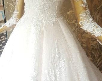 Puffy wedding dress | Etsy