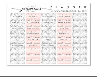Self Care ML: Pagan Planner Stickers for Witches / Wiccans / Pagans / Spiritual People Erin Condren